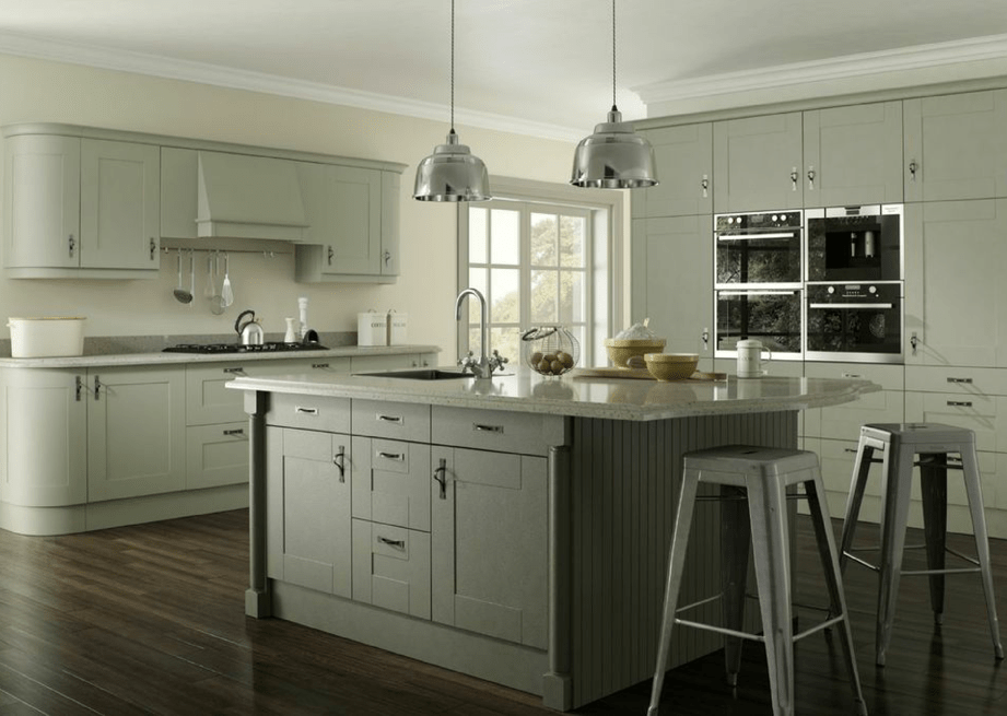 Kitchen styles with white cabinets - Shaker Kitchens Mastercraft Kitchens