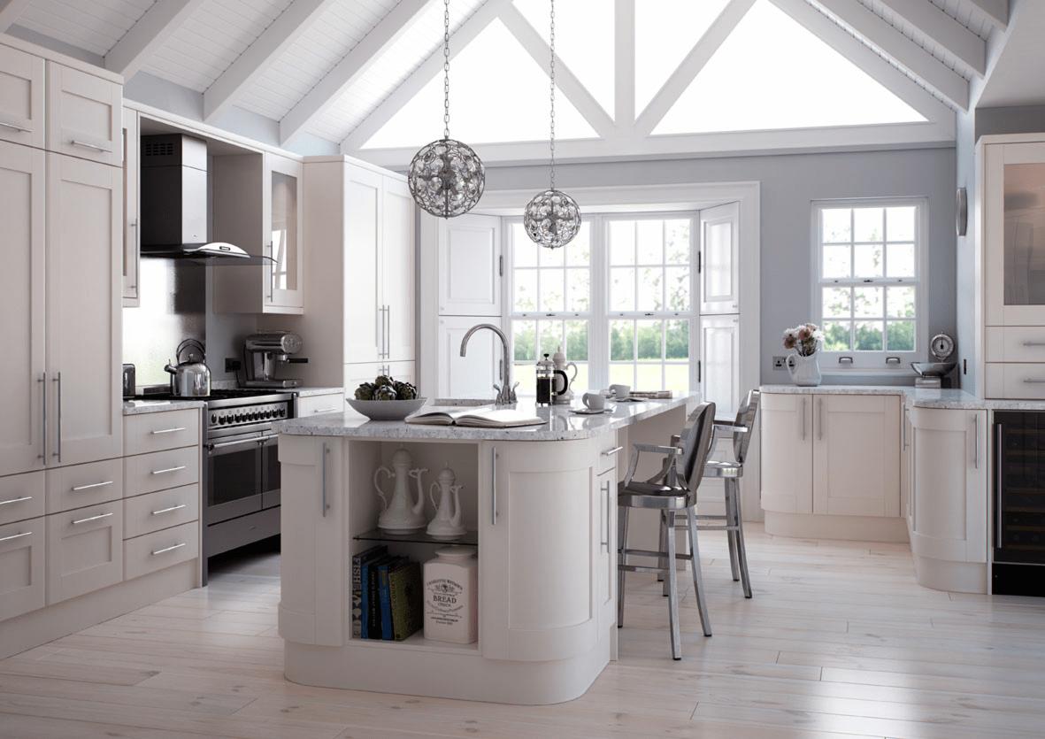 Shaker kitchens mastercraft kitchens for Cream shaker style kitchen cabinets
