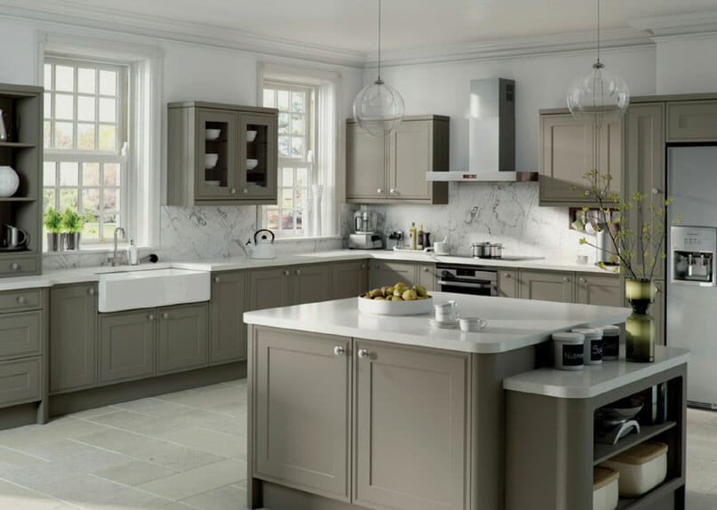 Tullymore Stone Grey Mastercraft Kitchens