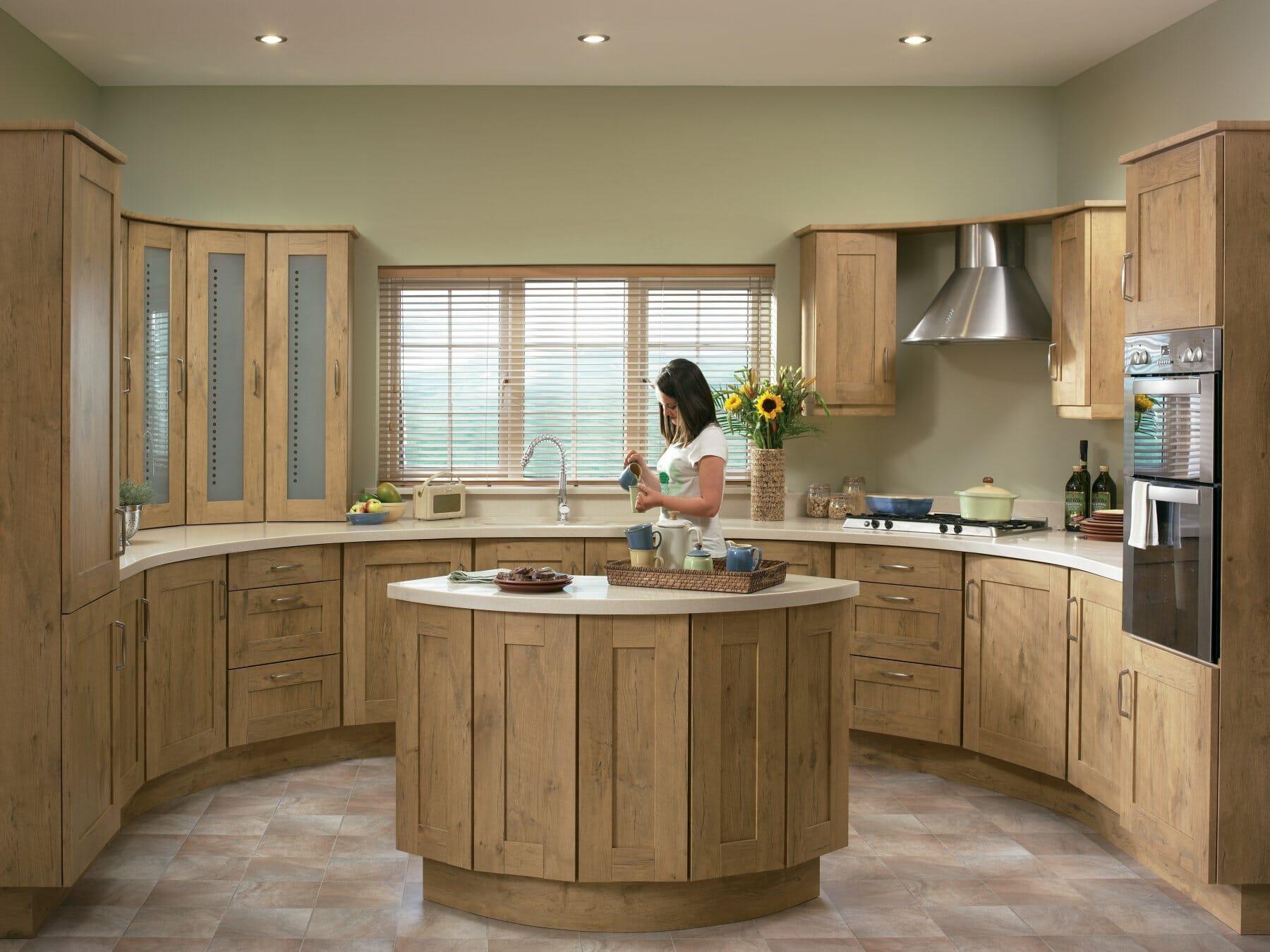 Kitchens mastercraft kitchens for Oak kitchen ideas