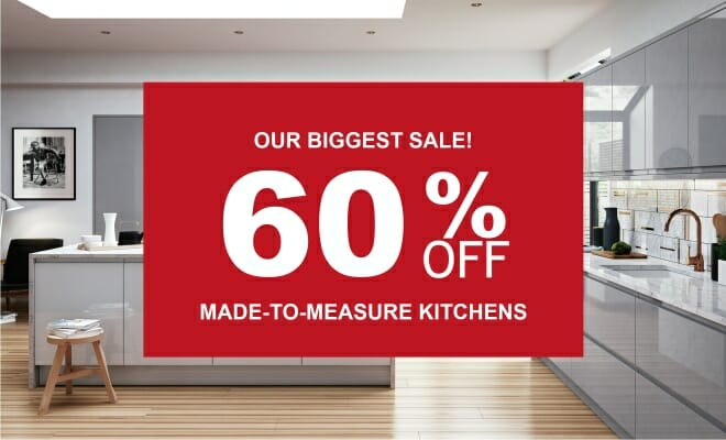 60% OFF KITCHENS