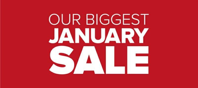 Biggest January Sale