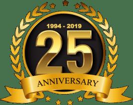 25years ANNIVERSAY
