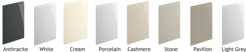 Lucente Gloss Door Colours
