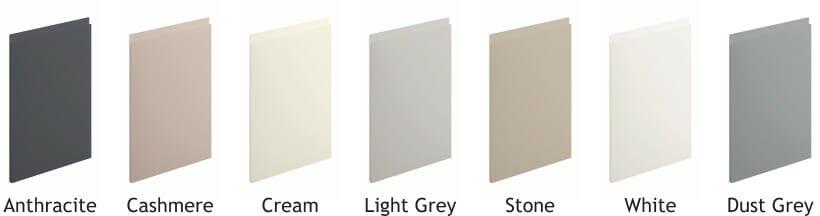 Lucente Matt Door Colours