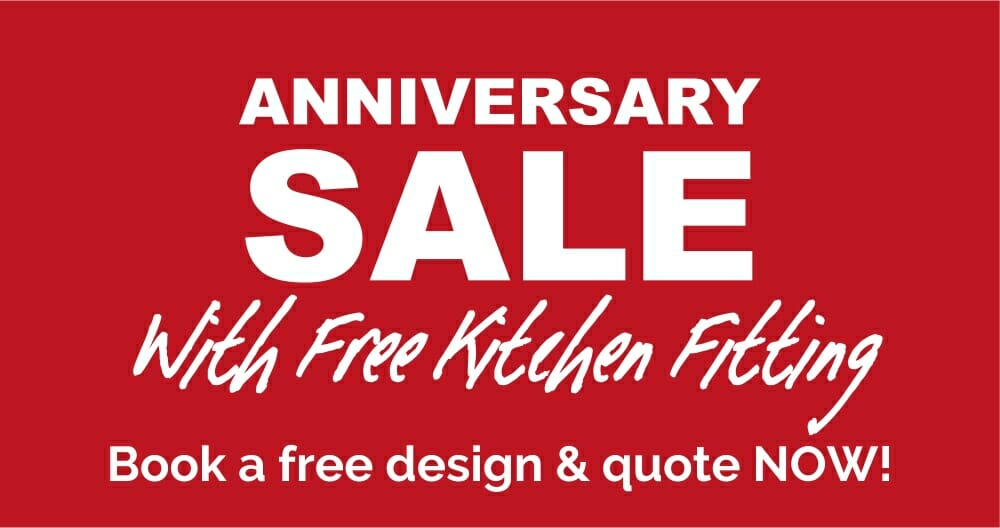 Anniversary Sale Banner with free fitting - 1000