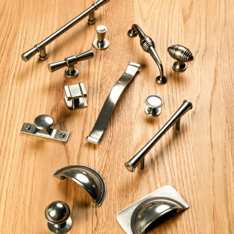 pewter handle collection
