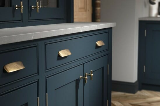 Clarendon - Bespoke Painted Hartforth Blue