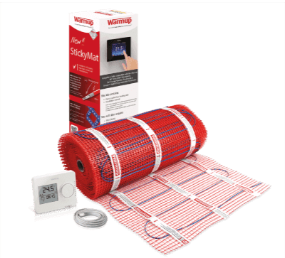 electric-warmup underfloor heating