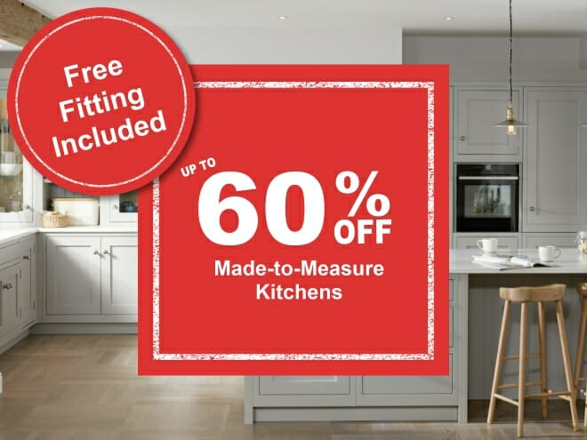 Kitchen Offer with Free Fitting Included