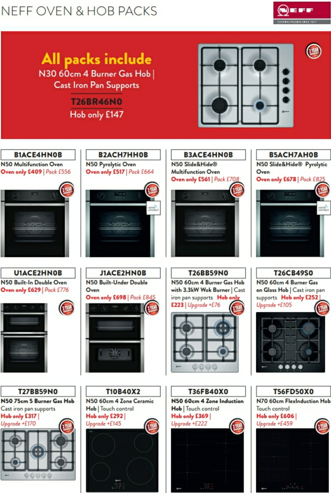 Neff Cooking Offers