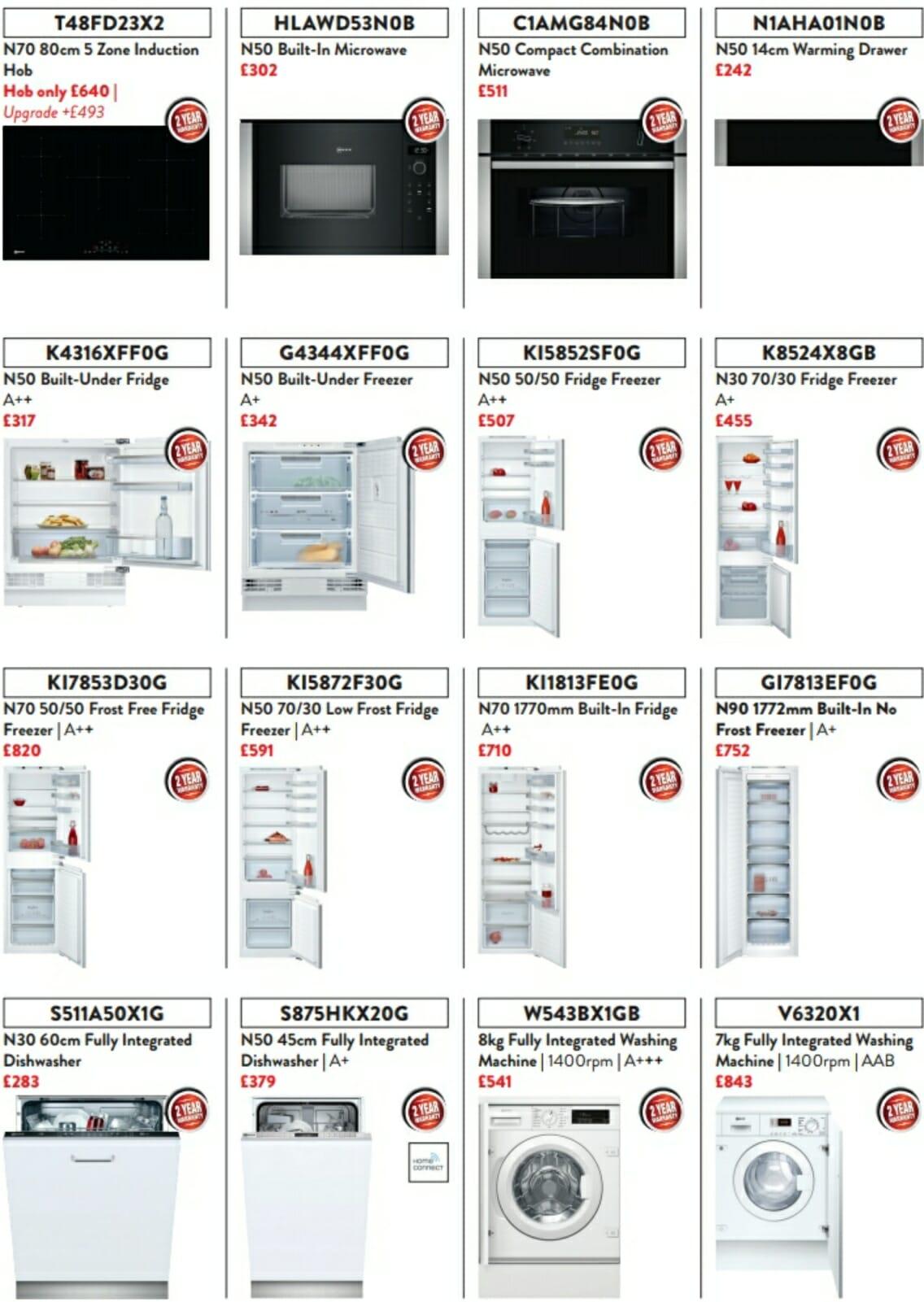 Neff Appliance Offers - 02