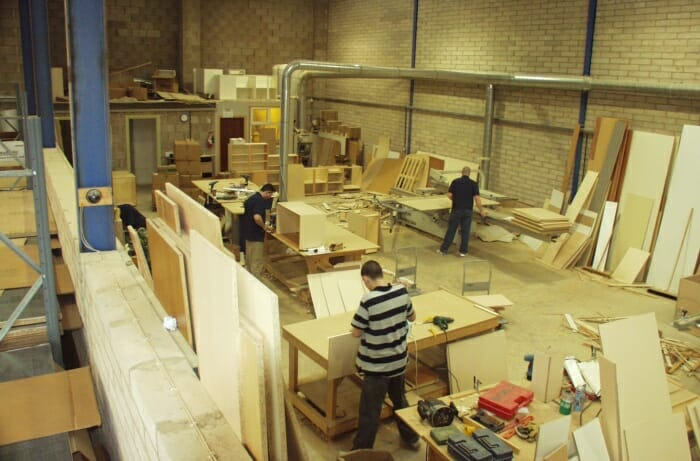 Bigger factory premises