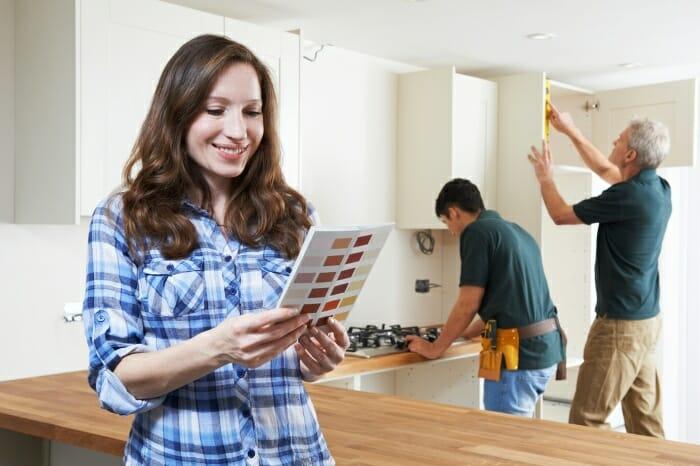 project managed kitchen installation